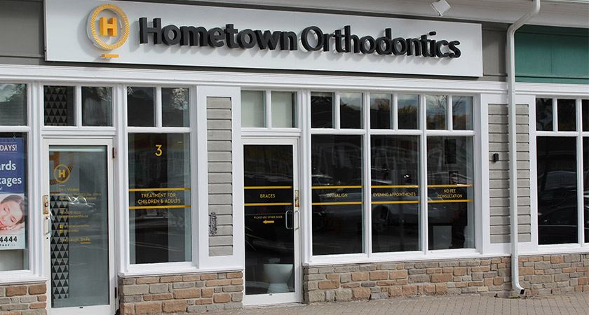 Hometown Orthodontics Mississauga Storefront